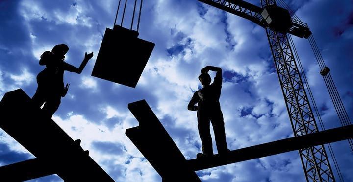 Gute Aussichten für Bau-Mitarbeiter