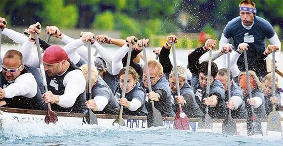 PLUTA unterstützt Hannover Drachenbootteam
